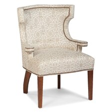 Transitional Tight Wingback Chair