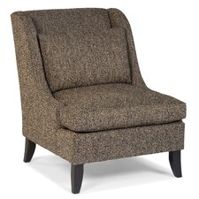 Transitional Pillow Wingback Chair