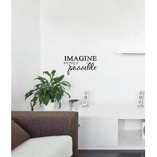 Blabla Imagine EN Wall Decal