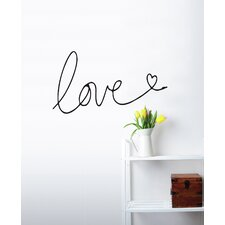Mia & Co I Write My Love For You Wall Decal