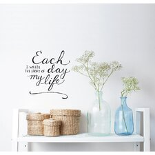 Blabla the Story of My Life EN Wall Decal