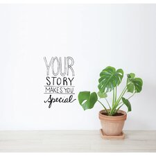 Blabla Your Story EN Wall Decal