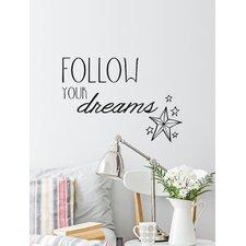 Blabla Follow Your Dreams EN Wall Decal