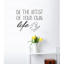 Blabla Be Artist EN Wall Decal
