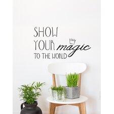 Blabla Show Your Magic EN Wall Decal