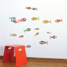 Ludo Fishes Wall Decal