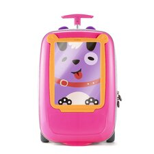 "GoVinci ""Look What I Made"" Suitcase in Pink"