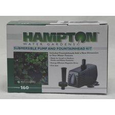 Pump/Fountain Kit 160 Gph