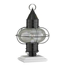 "Classic Onion 1 Light 11.38"" Outdoor Post Lantern"
