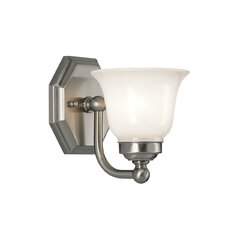 Trevi 1 Light Wall Sconce with Bell Shade