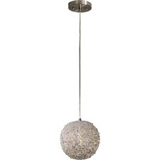 Salon 1 Light Globe Pendant