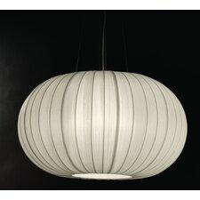 Shanghai 1 Light Oval Globe Pendant