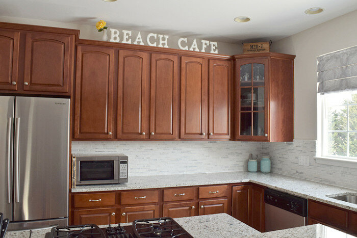 We Installed The Kitchen Backsplash Tile Ourselves With A Thinset Mortar.  The Cost/benefit Analysis Was In Our Favor Even Though We Had No Previous  Tile ...
