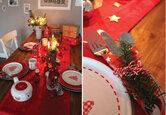 DIY: Weihnachtliche Tischdekoration