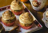 Rezept: Honigkuchen-Cupcakes mit Mandarinen-Frosting