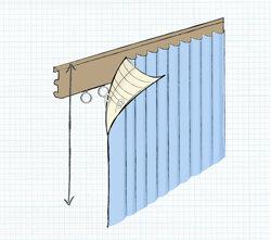 gewusst wie gardinen vorh nge richtig anbringen guides de wayfair. Black Bedroom Furniture Sets. Home Design Ideas