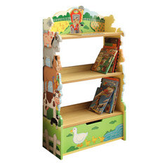 kids' bedroom storage shelf