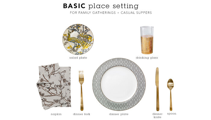 Set out this simple place setting for everyday dining from family dinners to a casual breakfast. If you\u0027re prepping for an event set the table in advance ...  sc 1 st  DwellStudio - Modern Furniture Store Home Décor \u0026 Contemporary ... & DwellStudio - Modern Furniture Store Home Décor \u0026 Contemporary ...