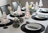 Deko-Idee: Weihnachten in Schwarz & Weiß
