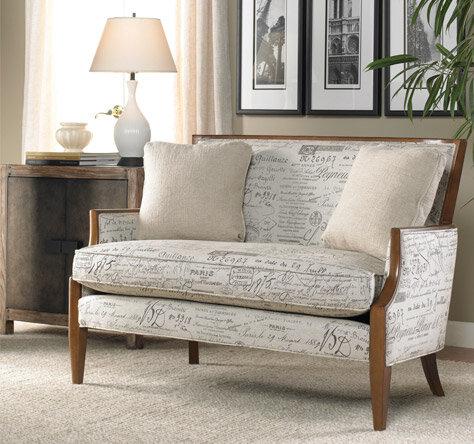 travel-inspired living room