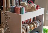 Gift Wrapping Station Ideas