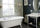 Bathroom: Vintage Black and White