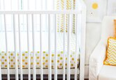 A Sophisticated Gold Nursery