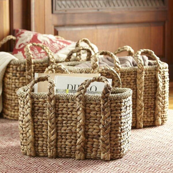 Birch Lane Handled Storage Basket