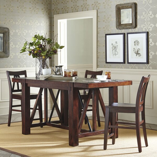 Birch Lane Rollins Extending Dining Table: Birch Lane Belvedere Counter Height Dining Table