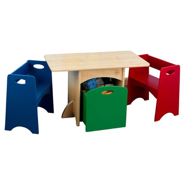 Kid's 4 Piece Table & Chair Set by KidKraft