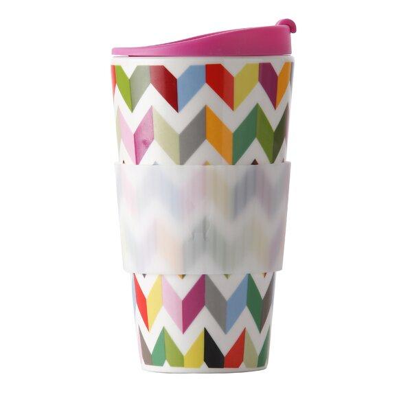 Ziggy 16oz Porcelain Traveler Mug