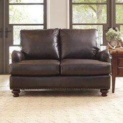 Montgomery Leather Loveseat