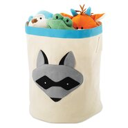 Raccoon Round Toy Storage Bin