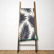 Tropical Palm Throw Blanket