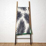 Tropical Palm Throw Blanket