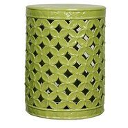 Lattice Leaves Garden Stool