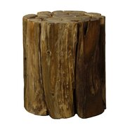 Woody Branches Round Stool