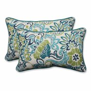 Zoe Mallard Outdoor/Indoor Throw Pillow (Set of 2)