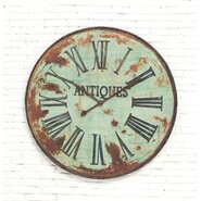 """Country Oversized 41"""" Wall Clock"""