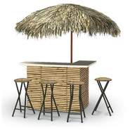 Luau Tiki Bar Set