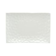 "Marble 11"" x 9"" Rectangular Dinner Plate (Set of 4)"