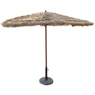 9' Artificial Tiki Thatch Market Umbrella