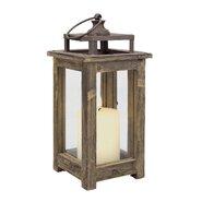 Rustic Retreat Wood Lantern