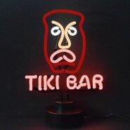 Business Signs Tiki Bar Neon Sculpture