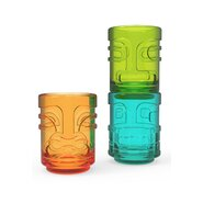 Tiki Trio 3 Piece Stacking Shot Glass Set