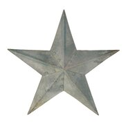 Galvanized Star Set of 4