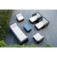 10 Piece Deep Seating Group with Cushions