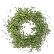 "24"" Wild Boxwood Wreath"