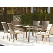 Marathon 7 Piece Dining Set with Cushion