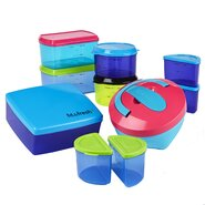 25-Piece Kid's Lunch Container Set